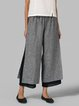 Tiered Casual Patchwork Pants