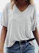 Women Summer Basic T Shirt Tops Tee