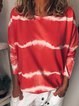Women Casual Round Neck Loose Tops Tunic