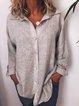 Women Casual Loose Long Sleeve Blouse Shirt Tops Tunic
