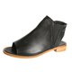 Women's Casual Low Heel Peep Toe Slip-On Sandals