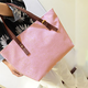 Women Embossed Pattern High Capacity Casual Zipper Handbag Shoulder Bag