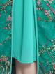 Women Daily Short Sleeve Vintage Elegant Dress