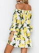 Off Shoulder Women Dresses Going Out Plant Dresses