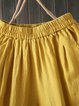 Women Plain Cotton Casual Pants