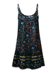 Crew Neck Women Summer Dresses Shift Daily Boho Floral-Print Dresses