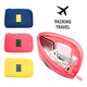 Multi-functional Two sizes Fashion Digital Data Cable Earphone Holder Organizer Cosmetic Bag