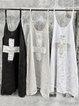 Sleeveless Round Neck Plus Size Dresses