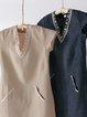 V Neck Women  Embroidered Dresses