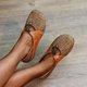 Flat Heel Adjustable Buckle Flats