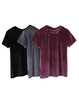 Plus Size Solid Simple Basic Women Summer T-shirts
