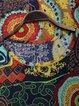 Women Spring Shirts Geometric Casual Long Sleeve Printed Tops