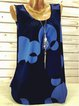 Plus Size Print Sleeveless Women Summer Camis