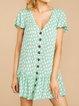 Aqua Women Summer Dresses Holiday Holiday Abstract Dresses