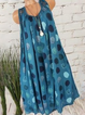 Polka Dots Plus Size Shift Beach Women Summer Dresses