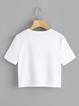 Printed Cartoon Cotton Short Sleeve Casual T-Shirts