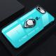 Fashion Magnetic Bracket Transparent Case For iPhone
