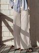 Cotton-Blend Pants
