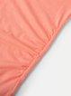Paneled V Neck Off Shoulder Casual Dress