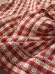 Cotton-Blend Sweet Round Neck Women Blouses