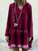 Women Casual Tops Tunic Dress