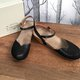 Round Toe Hollow Out Wedge Heel Buckle Women Sandals