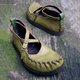 Buckle Vintage Causal Flat Shoes