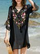 Seaside Lace Cardigan Women's Chiffon Blouse Beach Loose Shawl