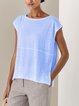 Round Neck Short Sleeve Shirts & Tops