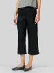 Women Casual Straight Leg Cropped Pants