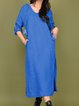Women Spring Hoodie Solid Maxi Dresses Long Sleeve Shift Casual Dresses