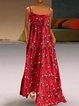 Boho Cotton-Blend Printed Dresses
