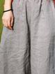 Paneled Linen Pants