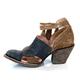 Women Vintage Ankle Booties Tassel Shoes
