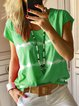 Plus Size Tie Dyed Women Summer T-shirts