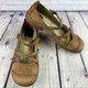 Round Toe Buckle Mary Jane Slip-On Vintage Sandals
