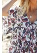 As Picture Casual Chiffon Printed/dyed Dresses