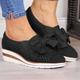 Bowknot Wedge Heel Summer Sneakers