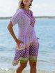 Short Sleeve Boho Dresses