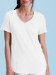 Cotton V Neck Casual Shirts & Tops