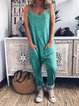 Sleeveless Casual Soft Jumpsuits