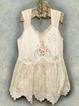Printed Spaghetti-Strap Casual Dresses