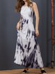 As Picture Printed Sweet Dresses