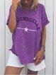 Short Sleeve Round Neck Shirts & Tops