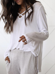 Long Sleeve Cotton V Neck Boho Shirts & Tops