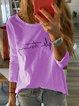 Long Sleeve Printed Casual Shirts & Tops