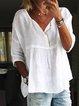 Women's Casual Cotton-Linen Tops