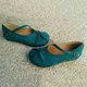 Blue Daily Suede Flats