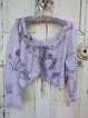 Women's  Casual Round Neck  Floral 3/4 Sleevee  Dresses