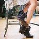 Zipper Casual Retro Boots